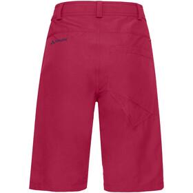 VAUDE Tekoa Pantalones cortos Mujer, crimson red